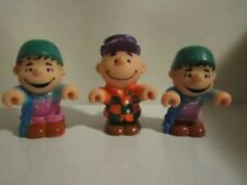 """McDonald's Happy Meal Toy 1980's ~ Charlie Brown and Linus 3 """" Tall Figures"""