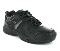 Hi-Tec XT101 Black Lace Up Sports Running Boy Shoes Trainers Size 13-6 UK