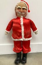 "Antique 25.5"" Standing Face Mask Santa Claus Christmas Doll Figure ~1920's"
