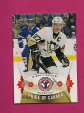 2014-15 NATIONAL HOCKEY CARD DAY PENGUINS SIDNEY CROSBY MINT CARD   (INV# A2184)
