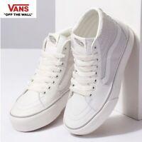 Vans Old Skool Platform Snake/White Sk8-Hi Fashion Sneakers,Shoes Women