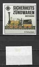 MATCHBOX LABELS-GERMANY. Railway series, packet  size label, Riesa