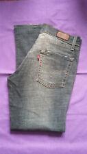 "Ladies LEVI'S 'Patty Anne' Jeans W 32"" L 28"" square cut slim leg 558?"