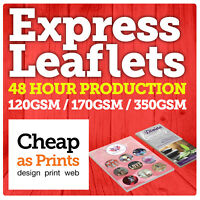 48HR Leaflets & Flyer Printing | Colour A6, DL, A4, A4, A3 Flyers & Leaflets