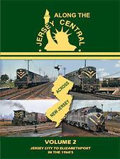 Along the Jersey Central Volume 2 DVD John Pechulis Jersey City to Elizabethport