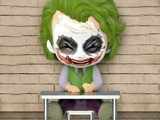 "BATMAN The Dark Knight Trilogy Cosbaby ""THE JOKER HEATH LEDGER"" Laughing version"
