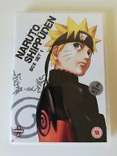 Naruto Shippuden - Box Set 1 (DVD, 2 Disc Set) Episodes 1 - 13 Manga Zone 2