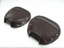 Lambretta Seat Cover Set Brown Front & Rear