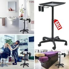CHEMICAL ALUMINUM TRAY TROLLEY ROLL-ABOUT COLOR CART BEAUTY SALON SPA EQUIPMENT