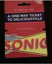 $10 sonic Gift Card