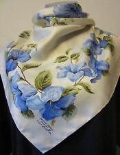 Bermuda Hibiscus flower by H.A&E Smith Ltd vintage silk scarf 67 x 68 cm