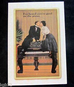 Leanin Tree Valentine Card Valentine's Day Vintage Humor Couple Love V6