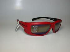 Vuarnet Sunglasses VL/1220 CX8000 CONTRAST LENS LRG RED W BLACK SPORTS WRAP NEW