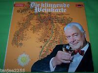 Willy Schneider - Die klingende Weinkarte - Polydor LP
