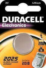 DURACELL 10X BATTERIA A LITIO 3V DL2025/CR2025/ECR2025
