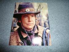 Robin niega signed autógrafo en persona 20x25 cm Deadwood Calamity Jane
