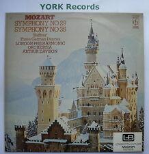 CFP 40306 - MOZART - Symphonies No 29 & 35 - DAVISON LPO - Ex Con LP Record