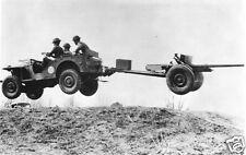 "World War 2 Bantam Jeep US Army New River North Carolina USA 1941 Photo  6x4"""