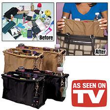 New Kangaroo Keeper 2 AS SEEN ON TV Purse Handbag Multi Bag Organizer Black