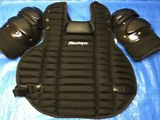 "MacGregor Umpire's Chest Protector Baseball 16.5"" Black MCB79BXX"