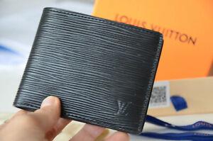 LOUIS VUITTON LV Epi Leather Bifold Wallet MULTIPLE