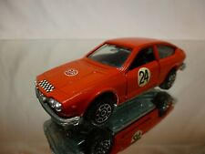MERCURY 306 ALFA ROMEO ALFETTA GT RALLY #24 - RED 1:43 - GOOD CONDITION