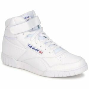Reebok Lifestyle Exofit 3477 White Men Leather with Rubber Sole Trainer Sneakers
