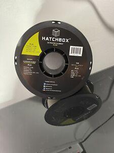 HATCHBOX PLA 3D Printer Filament, Dimensional Accuracy +/- 0.03 mm, 1 kg Spool,