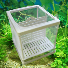 New listing Aquarium Fish Tank Guppy Breeding Breeder Baby/Fry Net Trap Box Hatchery Bh1