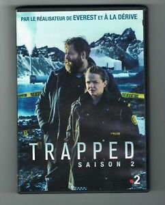 TRAPPED - SAISON 2 - 2019 - 3 DVD SET - TRÈS BON ÉTAT