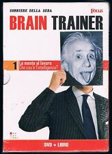 BRAIN TRAINER LA MENTE AL LAVORO DVD + LIBRO SIGILLATO!!!