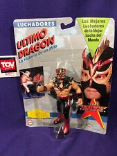 OSFTM Toymakers Luchadores CMLL Ultimo Dragon Figure MOC Vintage wrestling