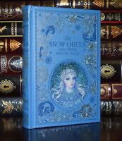 Snow Queen Andersen New Sealed Leather Bound Collectible Ribbon Marker Hardcover