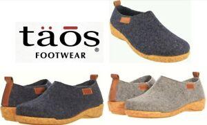 Taos Footwear slippers comfort wool clogs Taos Shoes Spain Wooderwool