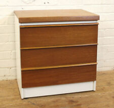 Unbranded Bedroom Vintage/Retro Height 3 Chests of Drawers