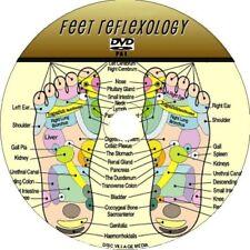 Foot Reflexology DVD ÉDUCATIF étape par étape facile à Follow Feet MASSAGE NEUF
