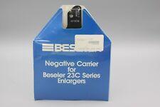 """Beseler 2"""" 35mm Mounted Slide Negative Carrier #8054 for 23C Enlargers"""