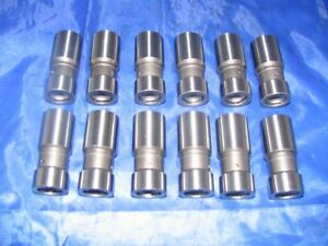 12 Hydraulic Valve Lifters 60 61 62 Chevy Chevrolet 235 6-cyl 1960 1961 1962