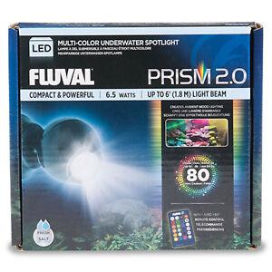 NEW Fluval Prism 2.0 Colour Changing Spot Lamp LED 6.5w (3.8 x 3.8cm)
