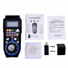Wireless Handwheel 4Axis Controller Manual Pulse Generator MPG for MACH3 100PPR