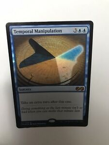 1x Temporal Manipulation Foil Ultimate Masters - English MTG NM