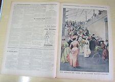 Le petit journal 560 (1901) un dimanche soir gare Saint Lazare