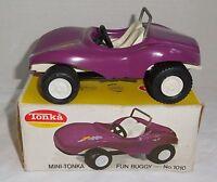 Vintage TONKA 1970's PURPLE MINI TONKA FUN BUGGY No. 1010 w/BOX - NICE SHAPE