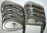 Mizuno TPZ Oversize irons 3-SW with Mizuno firm flex graphite shafts MISSING PW