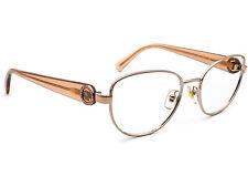 Versace Women's Eyeglasses MOD 1246-B 1052 Copper Oval Frame Italy 52[]17 135