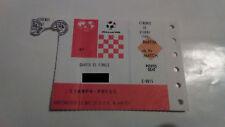 WORLD CUP ITALY 1990, YUGOSLAVIA v ARGENTINA, QUARTER-FINALS, PRESS TICKET, RARE