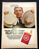 Life Magazine Ad LUCKY STRIKE Cigarettes 1965 AD