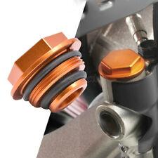 Rear Brake Master Cylinder Reservoir Cap (Orange) Fits KTM SX/SX-F/XC/XC-W/EXC