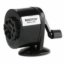 Stanley Bostitch Table or Wall Mount Antimicrobial Manual Pencil Sharpener Black