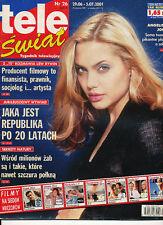 TELE SWIAT 01/26 (29/6/2001) ANGELINA JOLIE JANE BIRKIN GAINSBOURG BASINGER